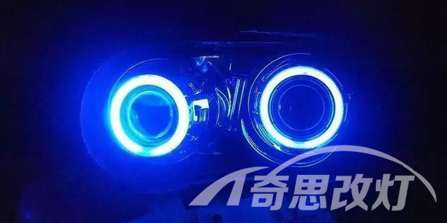 大众车灯改装加装,车灯改装