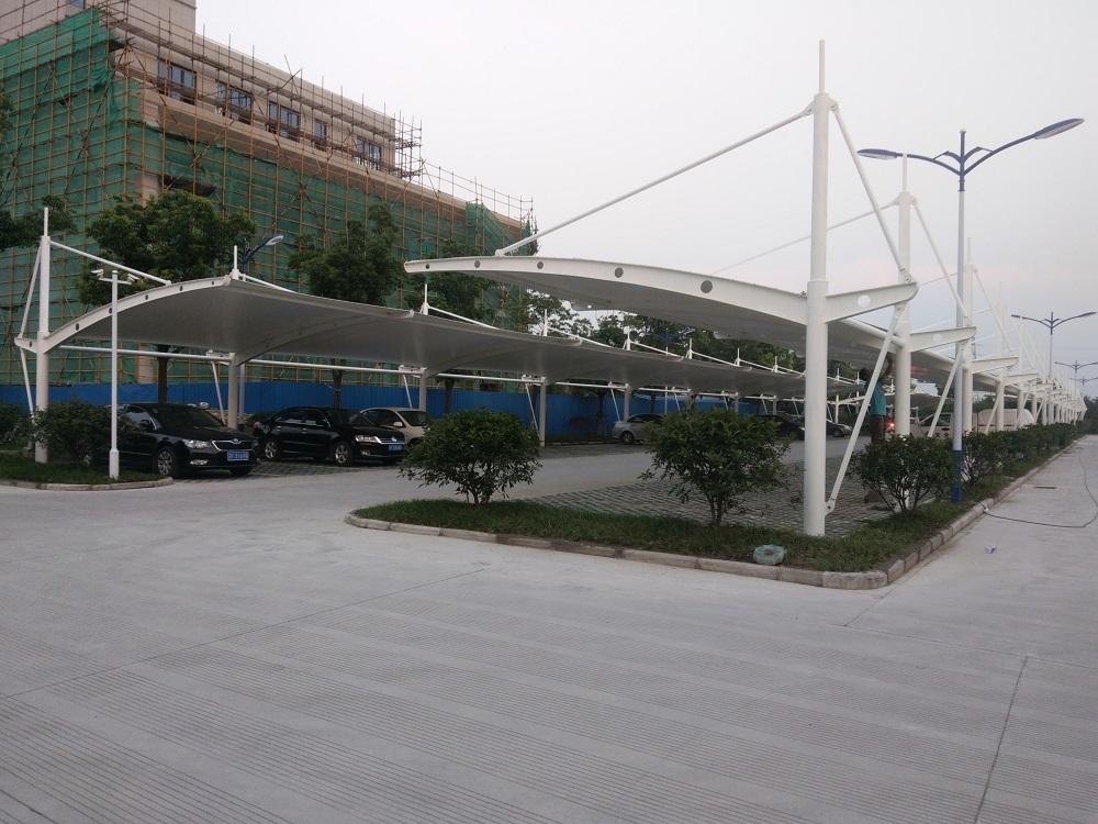黑龍江鋁制自行車遮陽棚 誠信服務「上海盎進膜結構工程供應」