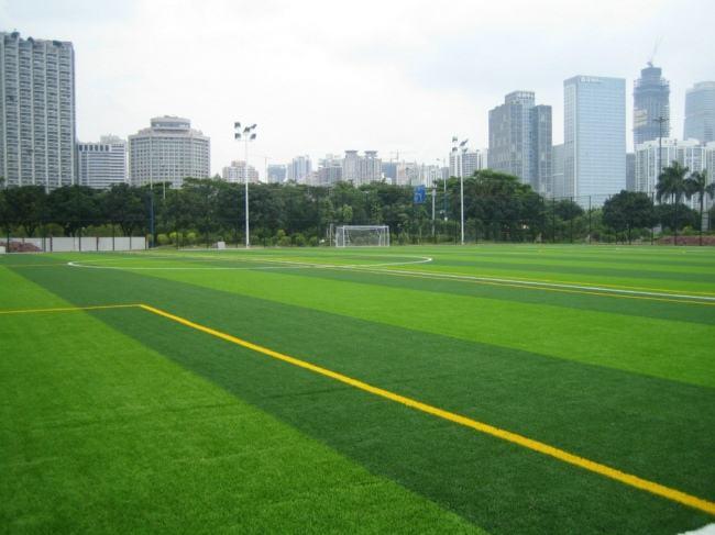 青浦草皮人造草皮生产「上海安怆体育设施工程供应」