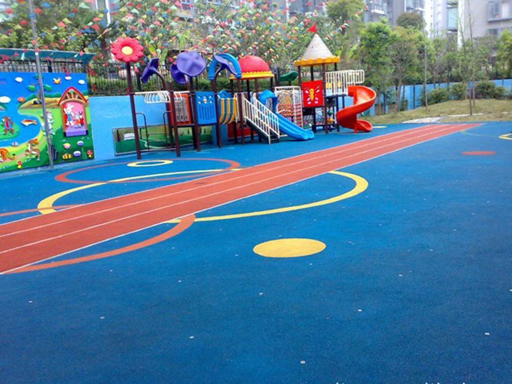 奉贤区官方幼儿园塑胶地面建造「上海安怆体育设施工程供应」
