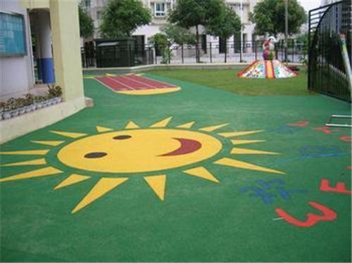 杭州幼儿园塑胶地面厂家 抱诚守真「上海安怆体育设施工程供应」