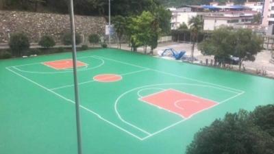 虹口区小区公园塑胶地坪哪家好 真诚推荐「上海安怆体育设施工程供应」