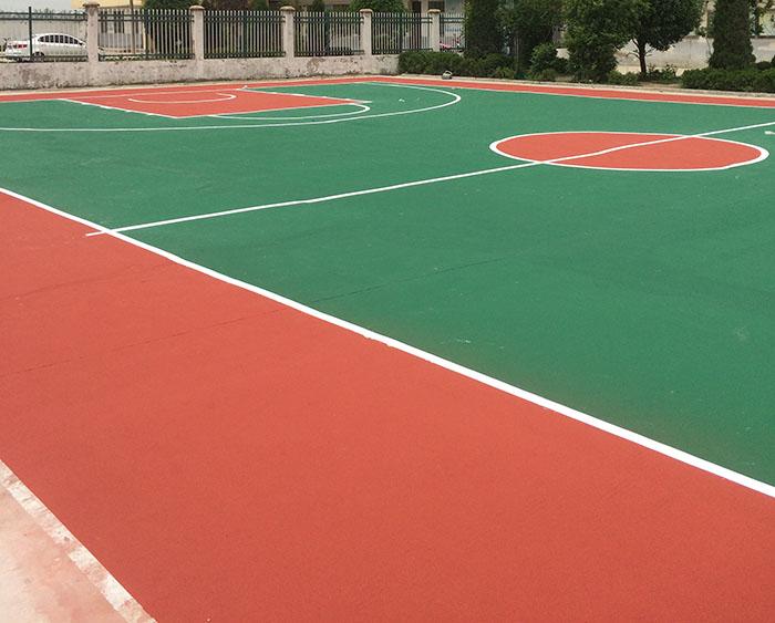 静安区环保硅pu篮球场收费「上海安怆体育设施工程供应」