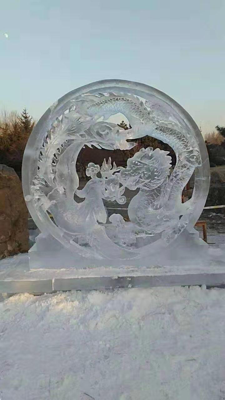 哈尔滨设计冰雕厂家 诚信经营「上海冰尊雕刻艺术供应」