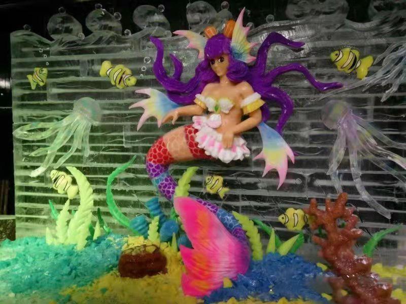 哈尔滨冰灯冰雕服务 抱诚守真「上海冰尊雕刻艺术供应」