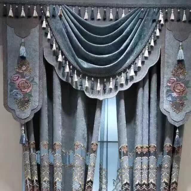 安徽遮光布艺窗帘定做