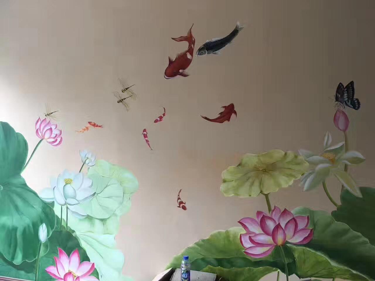 静安区家装彩绘服务 服务为先「上海持凡文化传播供应」