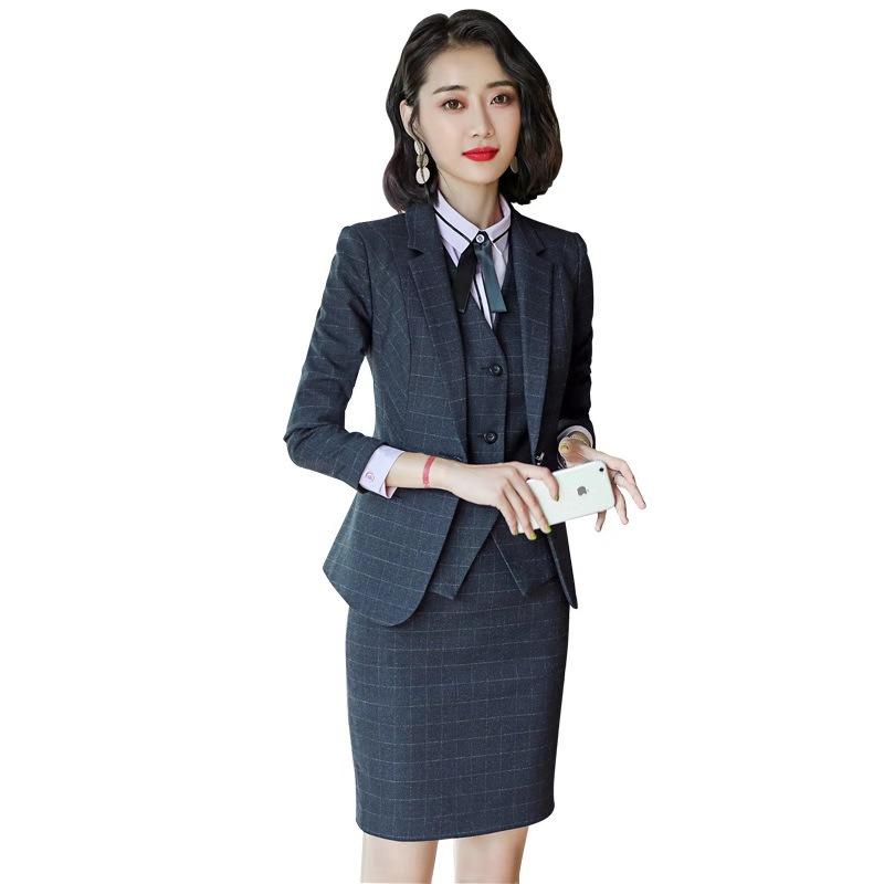 女士职业装订制价格「上海格宾服饰供应」