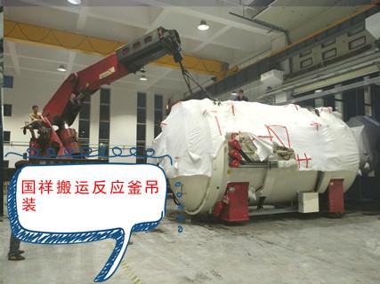 杭州负责任的设备吊装共同合作 上海国祥装卸搬运供应