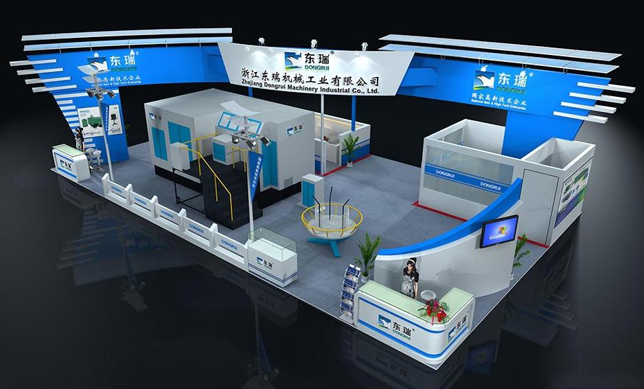 江苏环保展特装光地展台设计制作装修省钱 世歌会展供应