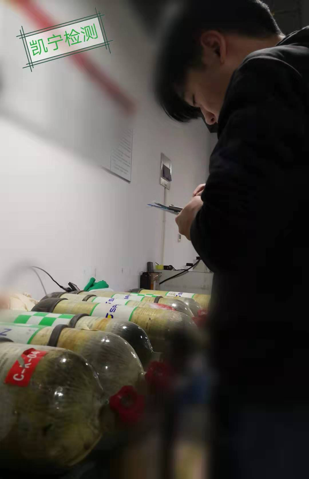 四川备用气瓶检测检验 来电咨询「上海凯宁安全装备供应」