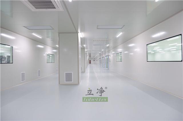 江苏百级洁净厂房 上海立净机电设备安装工程供应