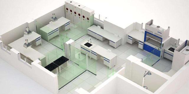 北京醫院實驗室設計立式通風柜 上海臨進實驗室設備供應