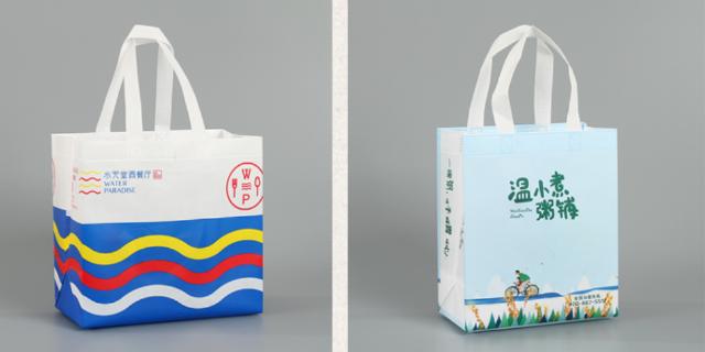崇明外卖包装袋设计