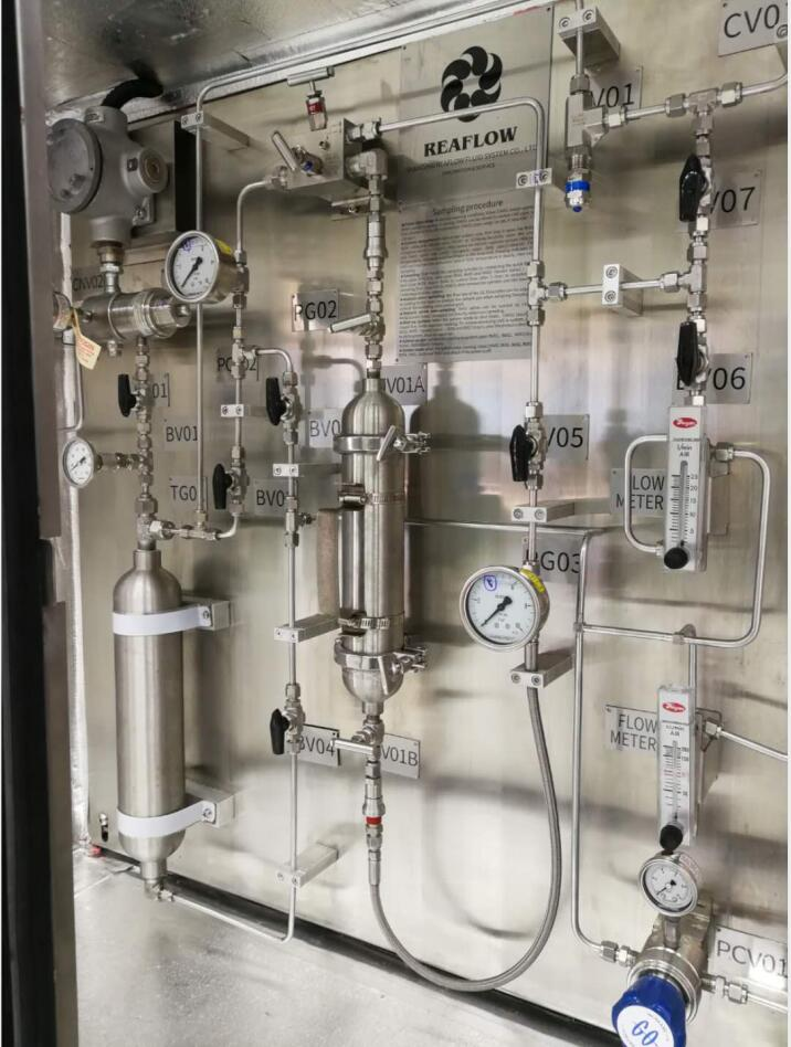 北京环保LNG取样装置