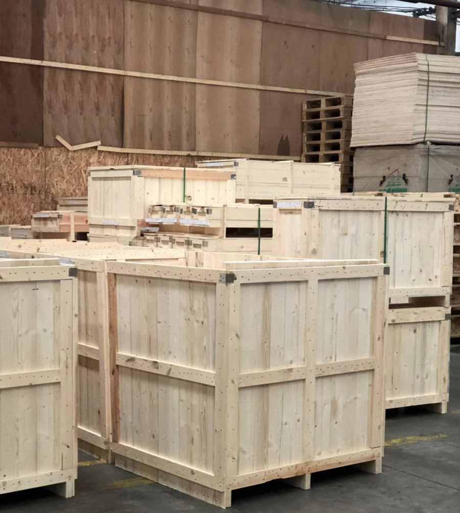 江西實木箱定做「上海樹人木業供應」