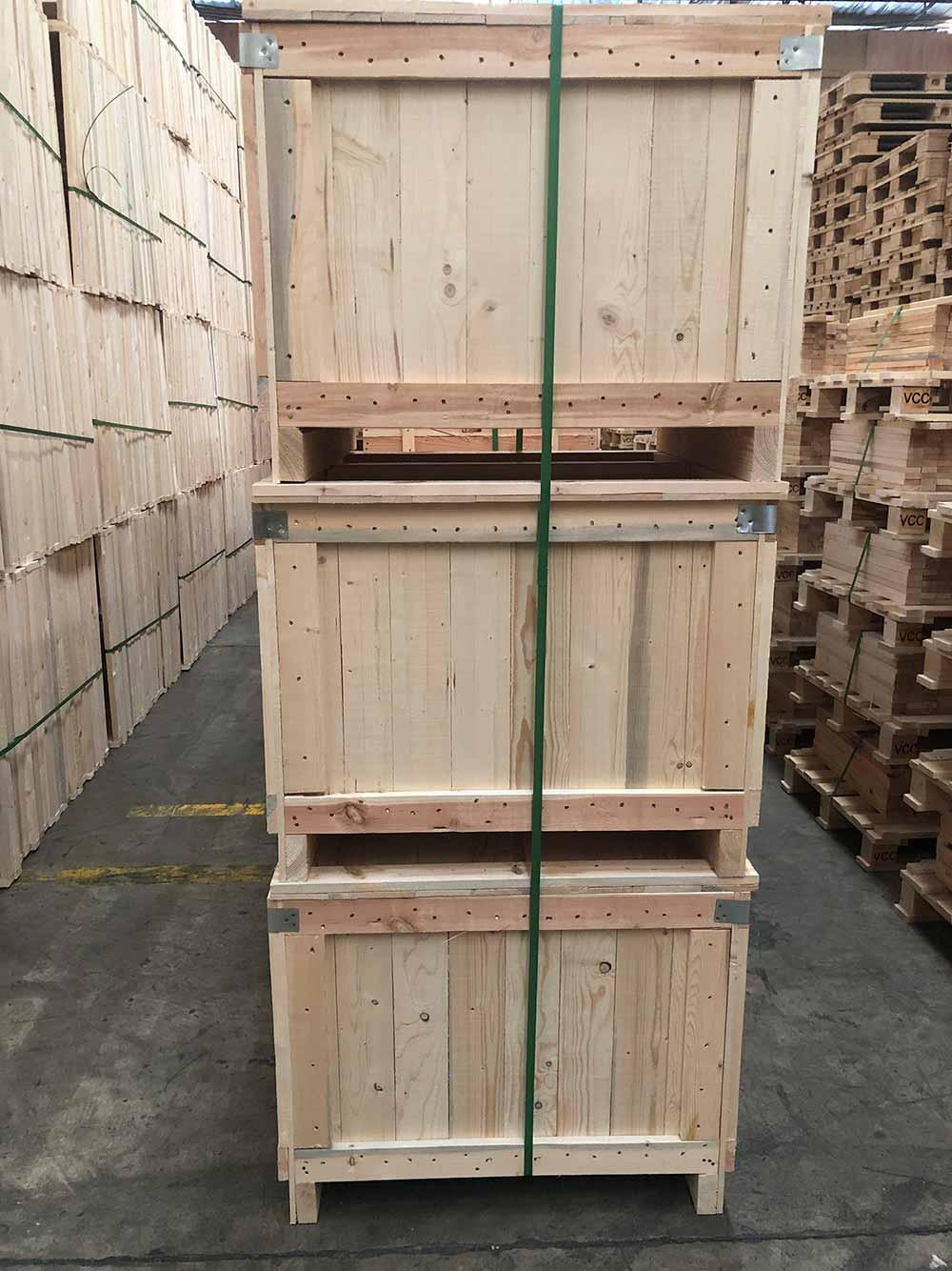 定制实木箱生产厂家「上海树人木业供应」
