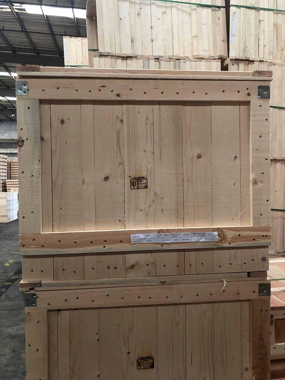 山東定制實木箱包裝 服務為先 上海樹人木業供應