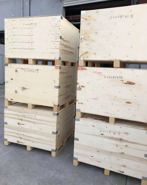 钢带包边胶合板木箱销售,胶合板木箱
