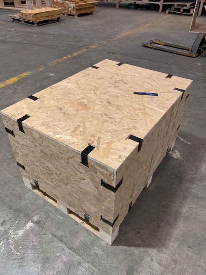 正宗卡扣箱制作 欢迎来电「上海树人木业供应」