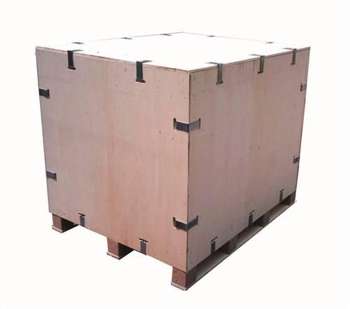 安徽钢带箱卡扣箱 上海树人木业供应