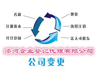 上海工商变更价格合理,工商变更