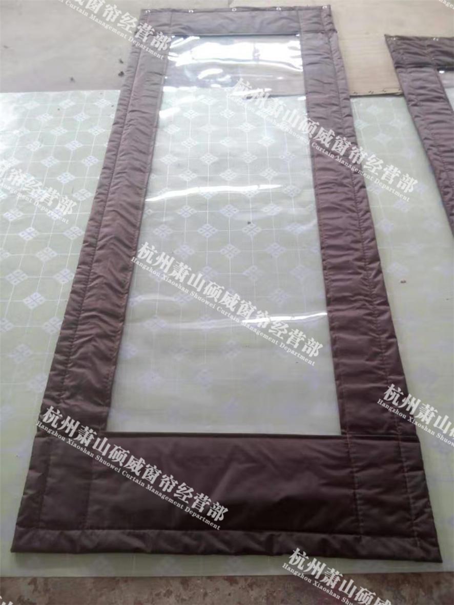 盐城透明皮革棉门帘 欢迎来电「杭州萧山硕威窗帘供应」