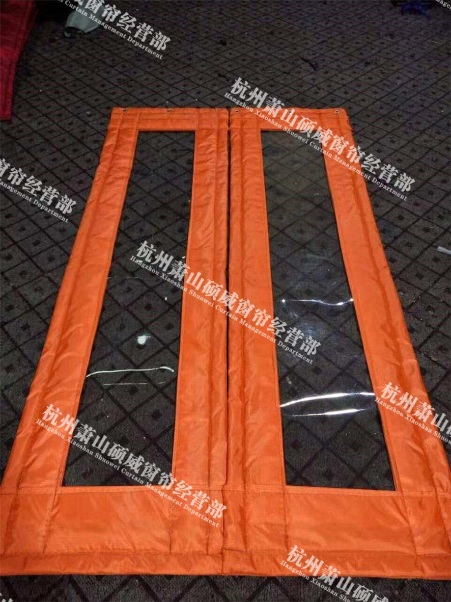 舟山皮革棉门帘厂家 贴心服务「杭州萧山硕威窗帘供应」