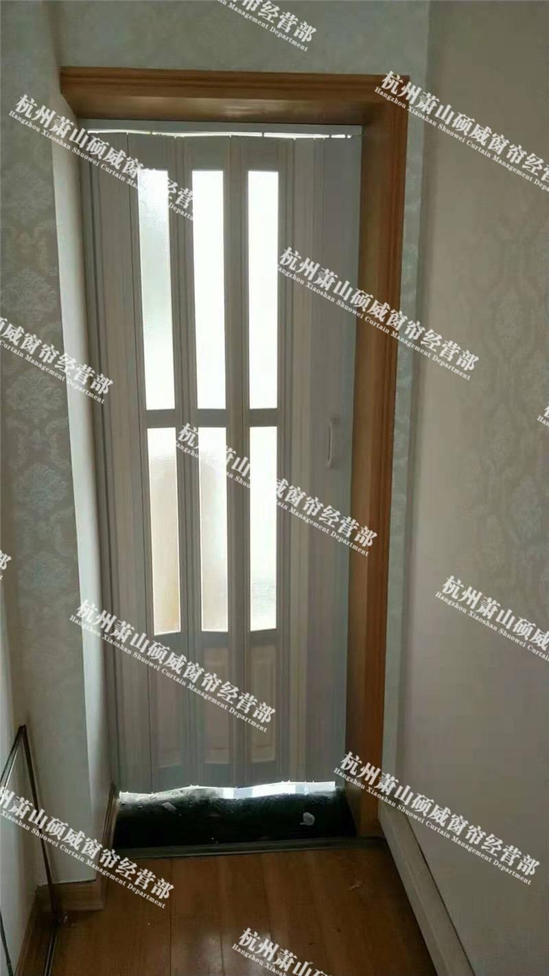 南通品牌折叠门 贴心服务「杭州萧山硕威窗帘供应」