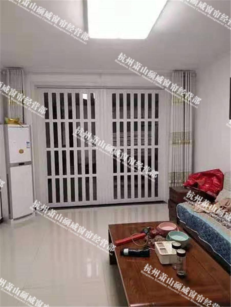 丽水折叠门可量尺定做 有口皆碑「杭州萧山硕威窗帘供应」