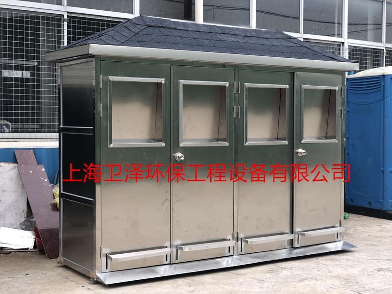 吉林活动垃圾房生产厂家 欢迎来电 上海卫泽环保供应