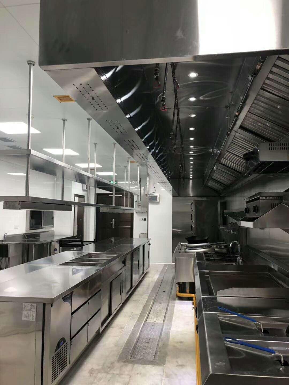 徐匯區商業廚房設計規劃 上海先雨廚具廚房工程供應