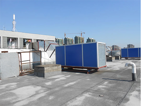 海鲜店厨房通风排烟 上海先雨厨具厨房工程供应