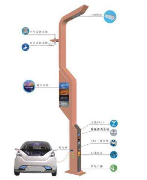 广西案例智慧路灯杆「上海熙枚电子科技供应」
