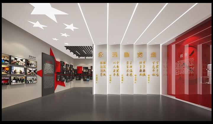 江蘇博物館展廳裝飾設計 美集珂文化創意供應