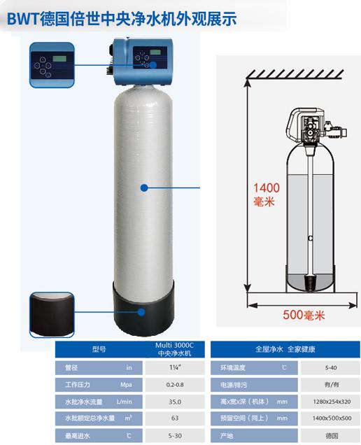 别墅中央水处理系统图 和谐共赢「上海重环环保科技供应」