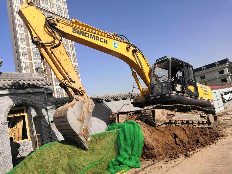 臨潼區燃油挖掘機租賃價格合理  陜西榮盛機械供應