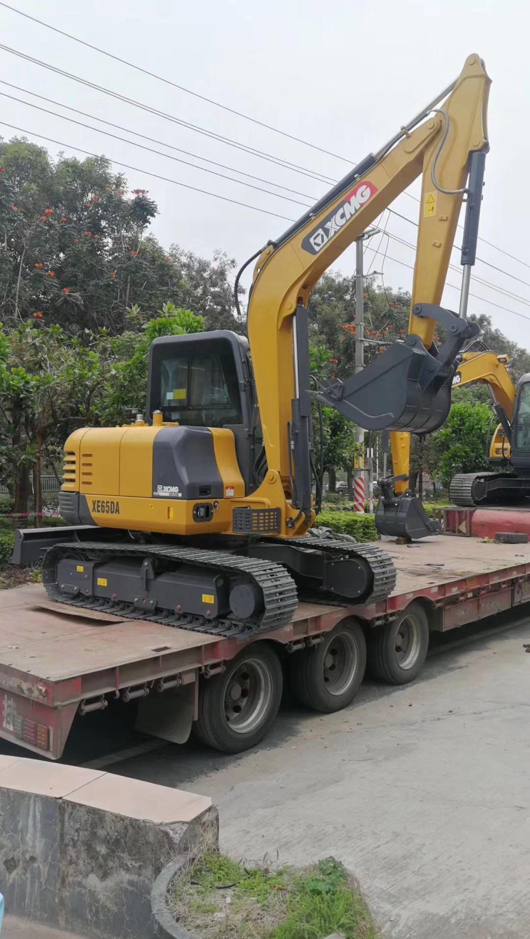 閻良區工業挖掘機租賃供應商家  陜西榮盛機械供應