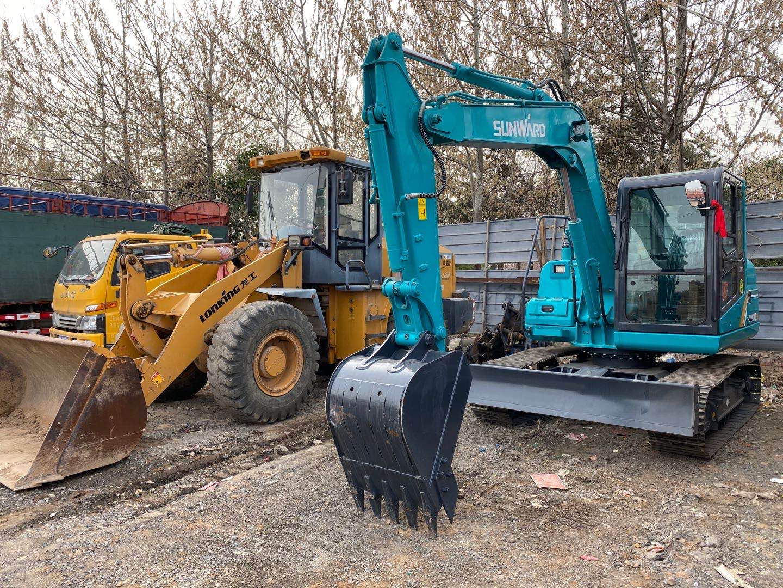 閻良區口碑好挖掘機租賃規格尺寸齊全  陜西榮盛機械供應