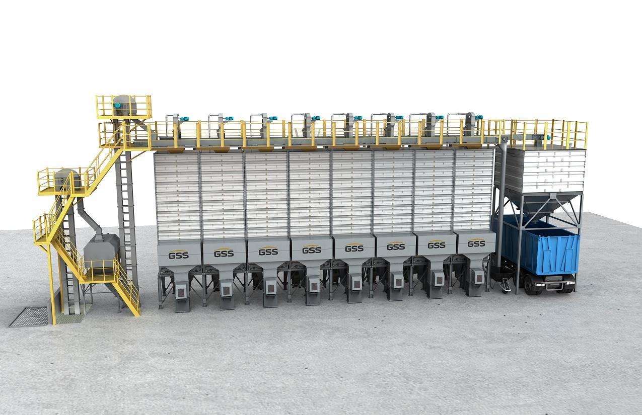 上海优质批式循环粮食干燥机推荐 诚信服务 苏州捷赛机械供应