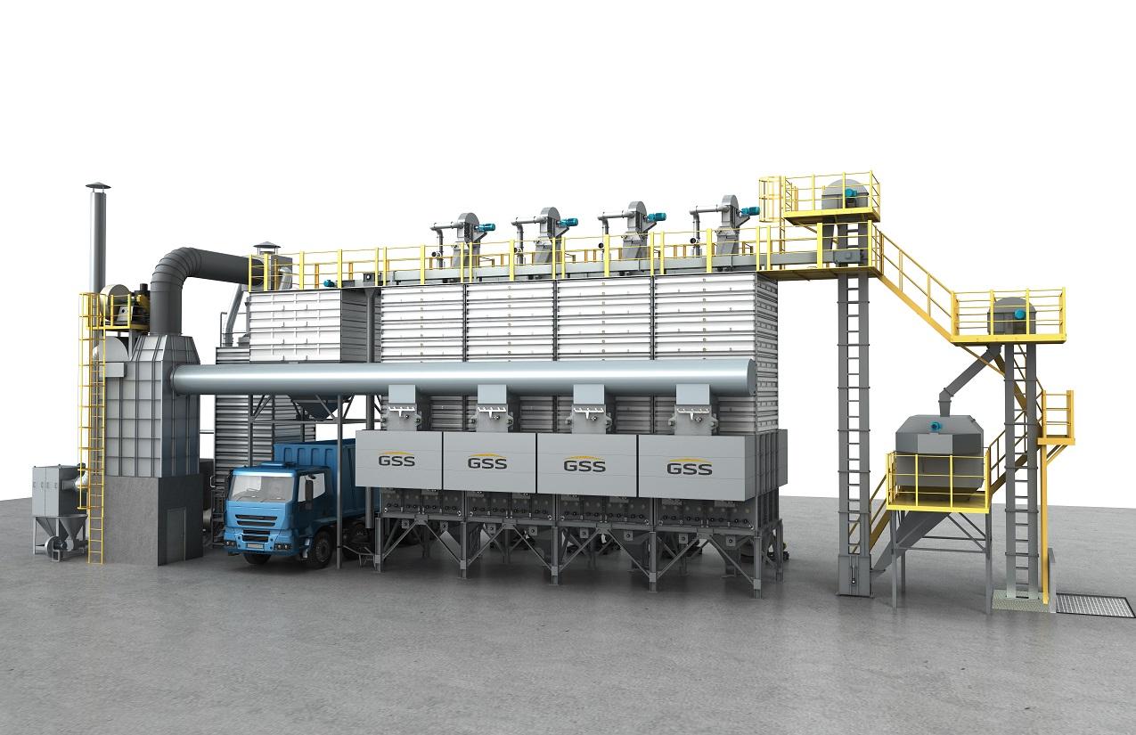 杭州知名批式循环粮食干燥机推荐 服务至上 苏州捷赛机械供应