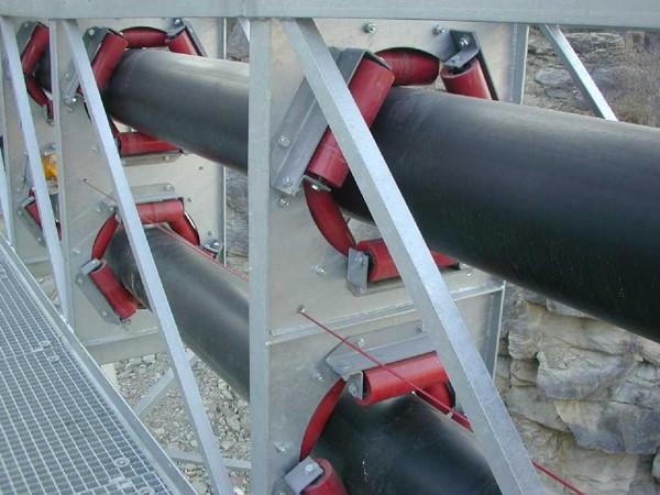 苏州销售圆管带式输送机 真诚推荐 苏州捷赛机械供应