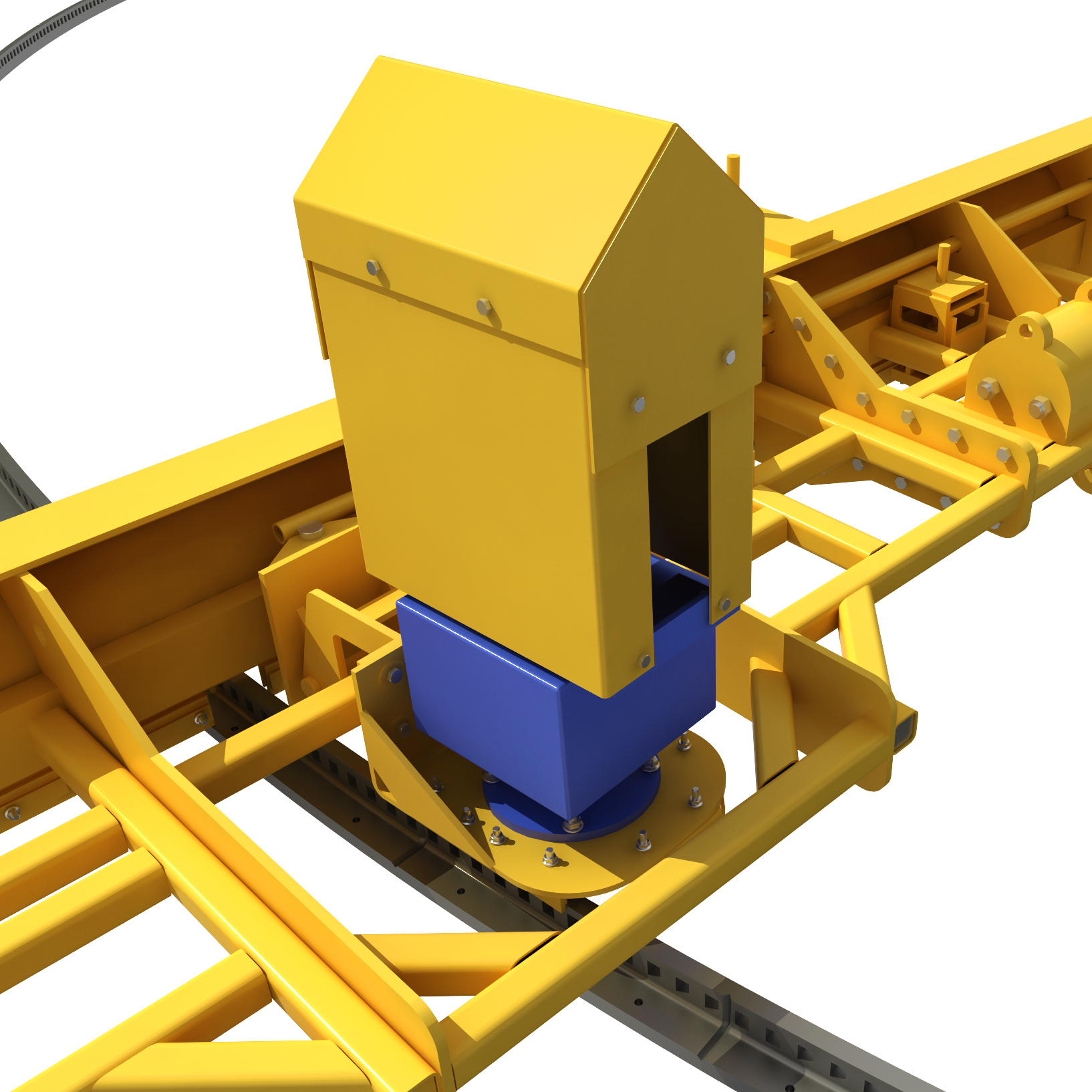 温州专业全封闭单托辊皮带输送机价格 创新服务 苏州捷赛机械供应