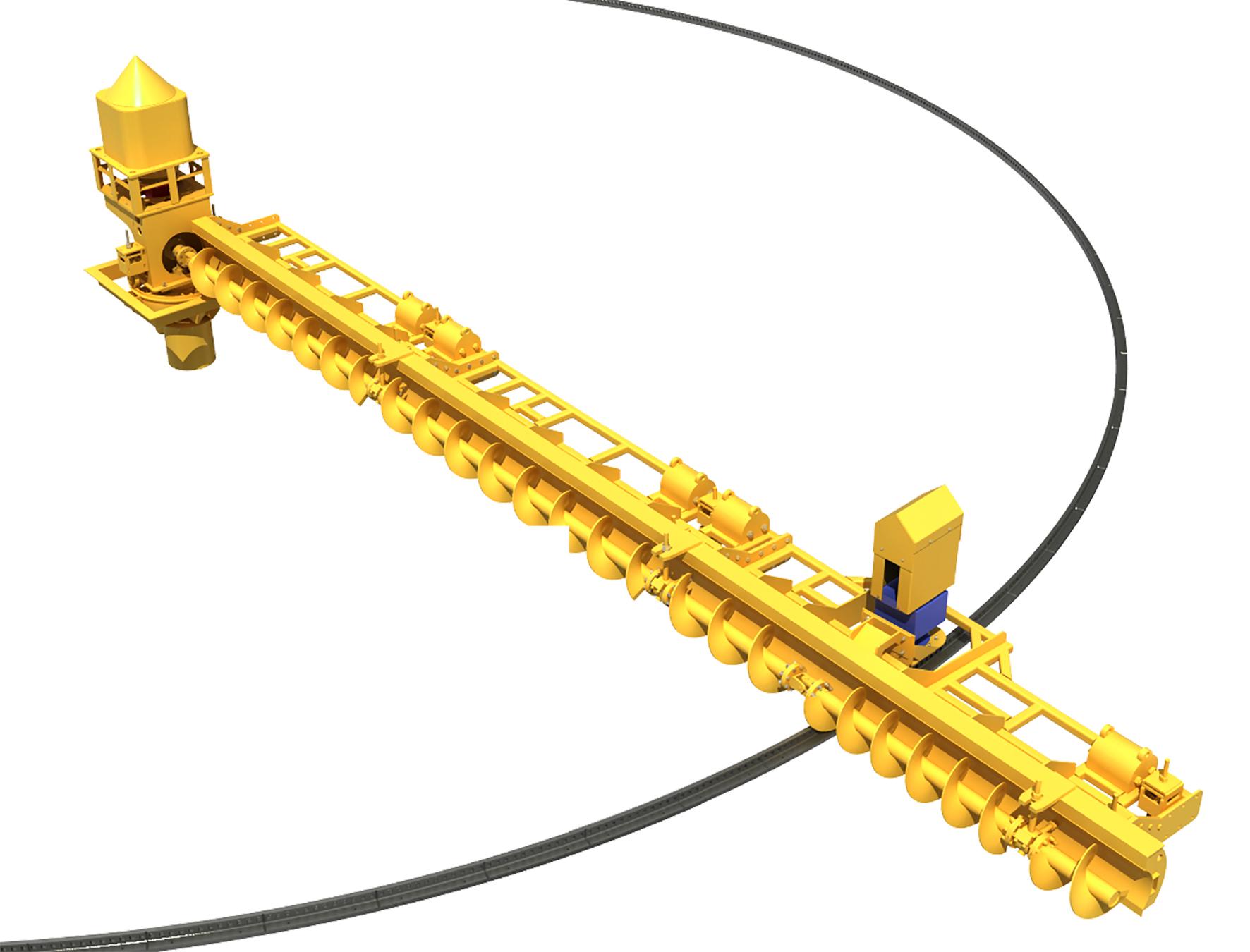 宁波专业弯刮板输送机值得信赖 来电咨询 苏州捷赛机械供应