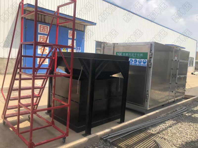 销售江苏苏州市污泥干化机新坤远供