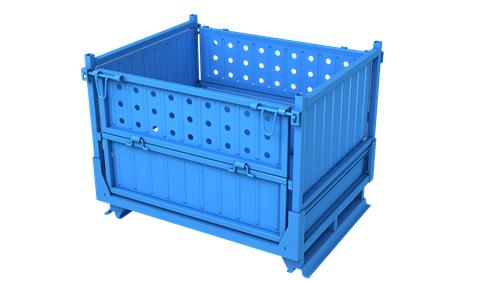 重庆围板箱毛坯件包装 循环包装 睿池供