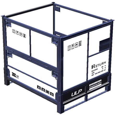 上海毛坯件包装周转箱租赁 包装租赁  睿池供