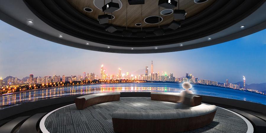 上海環幕影院服務至上 和諧共贏 未石互動科技供應