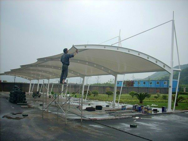 宜昌大型膜结构公司联系电话 值得信赖 武汉万年鸿工程供应