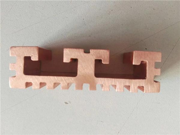 镇江T2紫铜排折弯打孔加工 来电咨询 无锡博纳斯特钢供应